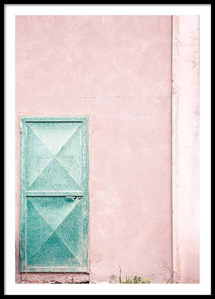 Mint Door Poster in the group Posters & Prints / Photography at Desenio AB (10044)