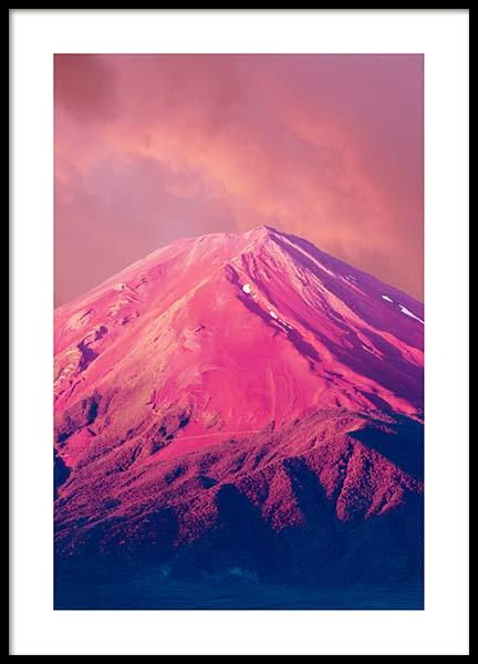 Fuji Mountain Poster in the group Posters & Prints / Nature at Desenio AB (10078)