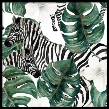 Zebra Pattern Poster in the group Posters & Prints / Art prints at Desenio AB (10122)