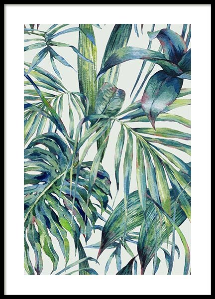 Watercolor Pattern Poster