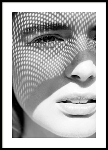 Sunny Shadow Poster in the group Posters & Prints / Black & white at Desenio AB (10145)