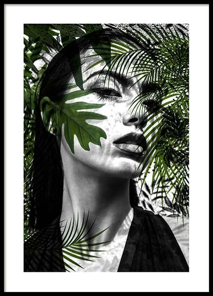 Behind The Leaves Poster in the group Posters & Prints / Illustrations at Desenio AB (10187)