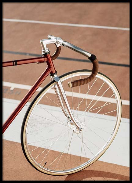 Track Bike Poster in the group Posters & Prints / Photography at Desenio AB (10224)