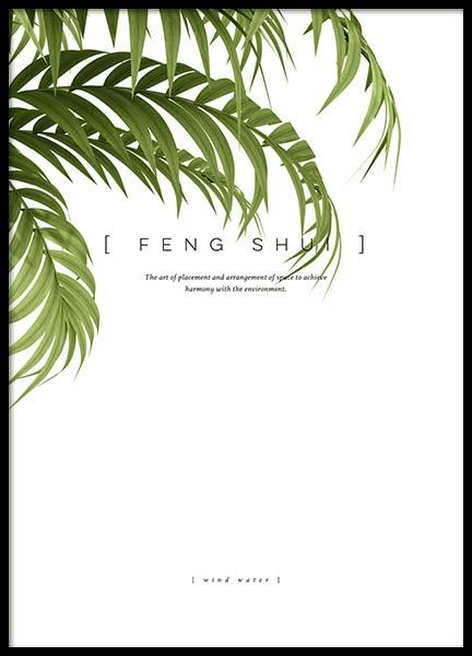 Feng Shui Poster in the group Posters & Prints / Typography & quotes at Desenio AB (10363)