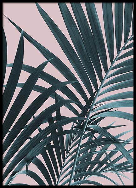 Pastel Palm No1 Poster in the group Posters & Prints / Photography at Desenio AB (10388)