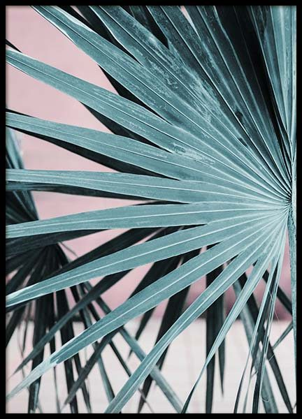 Pastel Palm No2 Poster