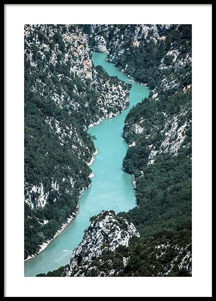 Gole del Verdon Poster in the group Posters & Prints / Nature at Desenio AB (10459)