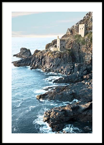 Botallack Tin Mine North Cornwall Poster in the group Posters & Prints / Nature at Desenio AB (10470)