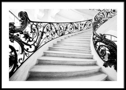 Art Nouveau Staircase Poster in the group Posters & Prints / Photography at Desenio AB (10484)