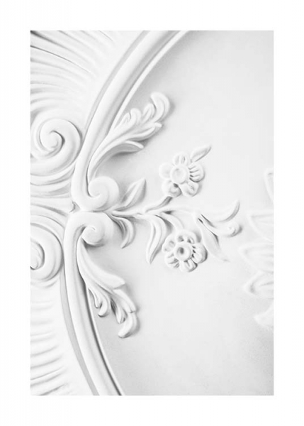 Baroque Stucco Poster in the group Posters & Prints / Photography at Desenio AB (10486)