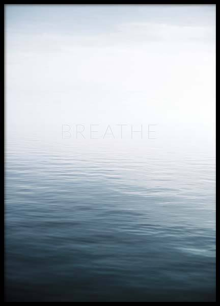 Breathe by the Sea Poster in the group Posters & Prints / Nature at Desenio AB (10491)