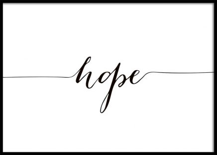 Hope Poster in the group Posters & Prints / Sizes / 50x70cm | 20x28 at Desenio AB (10508)