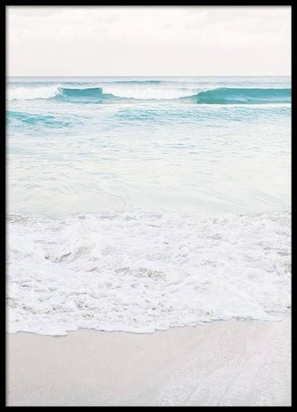 Dreamy Pastel Beach No1 Poster in the group Posters & Prints / Nature at Desenio AB (10630)