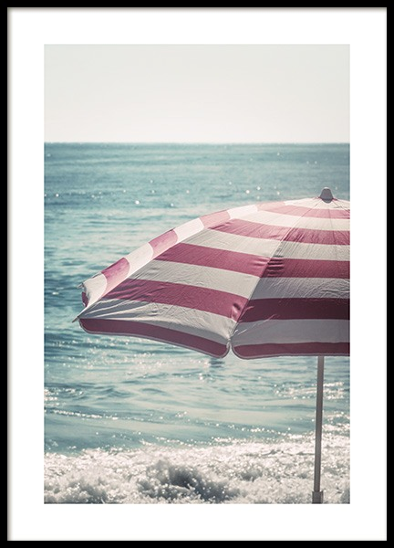 Beach Umbrella Poster in the group Posters & Prints / Photography at Desenio AB (10640)