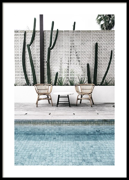 Pool Edge Poster in the group Posters & Prints / Photography at Desenio AB (10671)