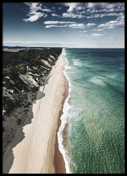 Coastline Aerial Poster in the group Posters & Prints / Nature at Desenio AB (10682)