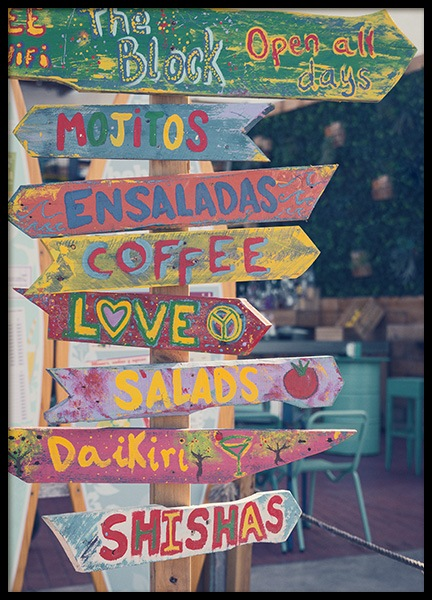 Coffee & Love Poster in the group Posters & Prints / Photography at Desenio AB (10700)