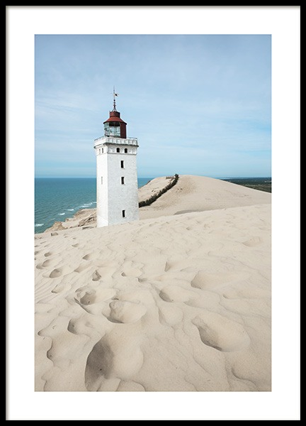 Rubjerg Knude Lighthouse Poster in the group Posters & Prints / Nature at Desenio AB (10752)