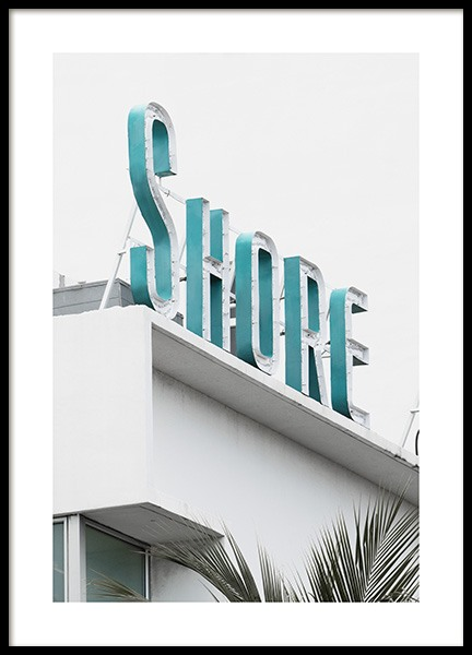 Shore Sign Poster in the group Posters & Prints / Photography at Desenio AB (10765)
