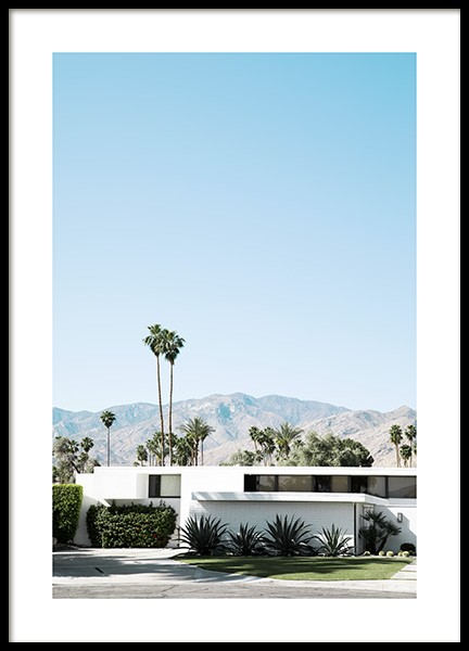 Palm Springs Modernism Poster in the group Studio Collections / Studio Coast to Coast / Palm Springs at Desenio AB (10796)