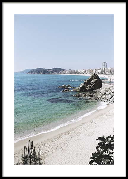Scenic Beach View Poster in the group Posters & Prints / Nature at Desenio AB (10891)