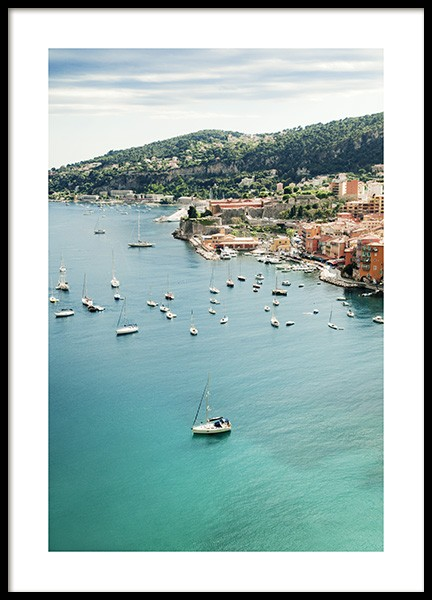 Sea View France Poster in the group Posters & Prints / Nature at Desenio AB (10894)