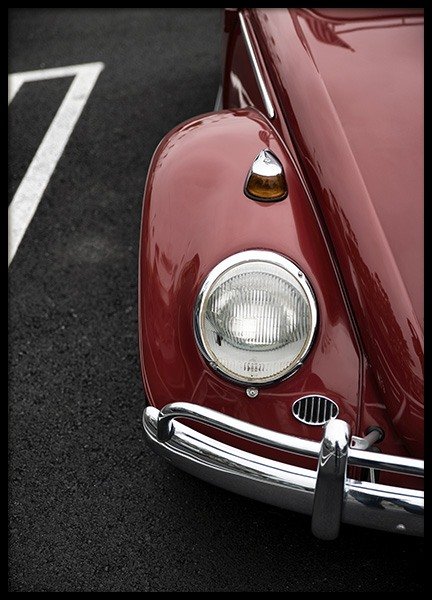 Red Beetle Poster in the group Posters & Prints / Photography at Desenio AB (10928)