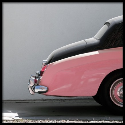 Pink Car Poster in the group Posters & Prints / Photography at Desenio AB (10952)