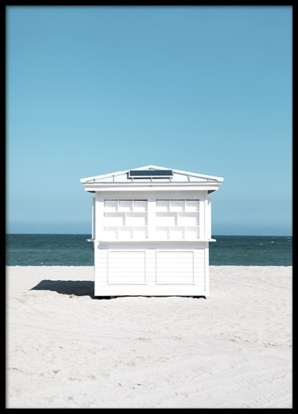 White Beach House Poster in the group Posters & Prints / Photography at Desenio AB (10965)