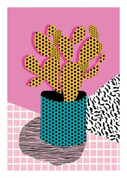 Ace Cactus Poster in the group Posters & Prints / Illustrations at Desenio AB (11066)