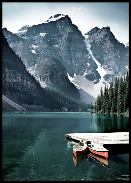 Two Canoes Poster in the group Posters & Prints / Nature at Desenio AB (11110)