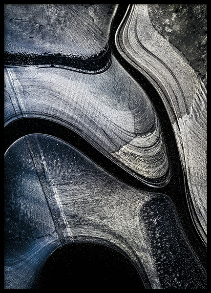 Icy Pattern Poster in the group Posters & Prints / Nature at Desenio AB (11156)