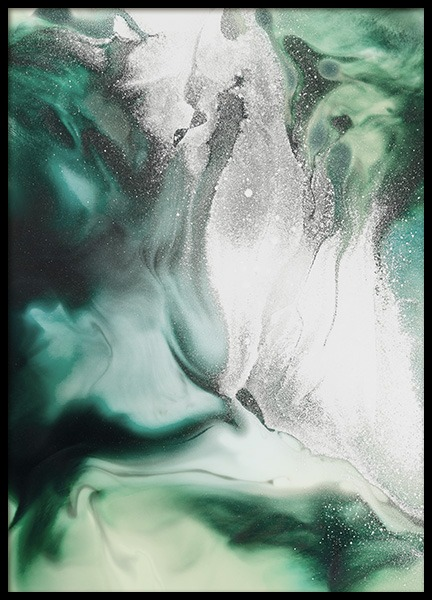 Abstract Green Painting Poster in the group Posters & Prints / Art prints at Desenio AB (11264)