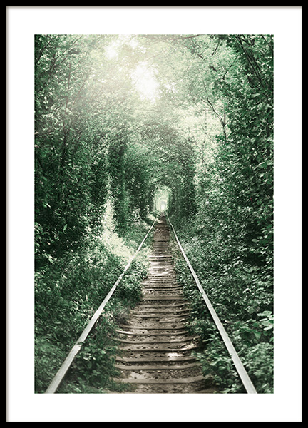 Forest Tunnel Poster in the group Posters & Prints / Nature at Desenio AB (11265)