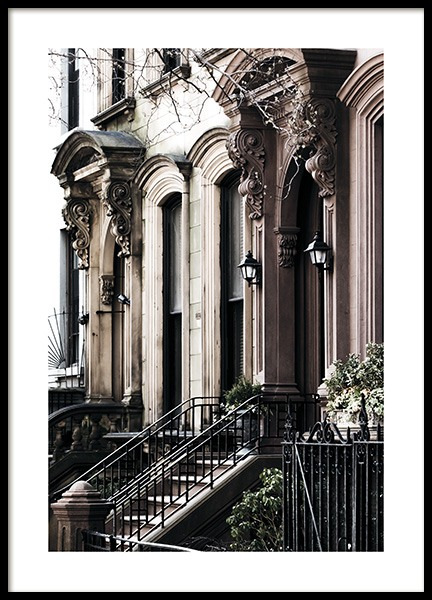 Brooklyn Building Poster in the group Posters & Prints / Photography at Desenio AB (11318)