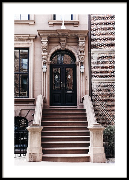 Brooklyn Door Poster in the group Posters & Prints / Photography at Desenio AB (11319)
