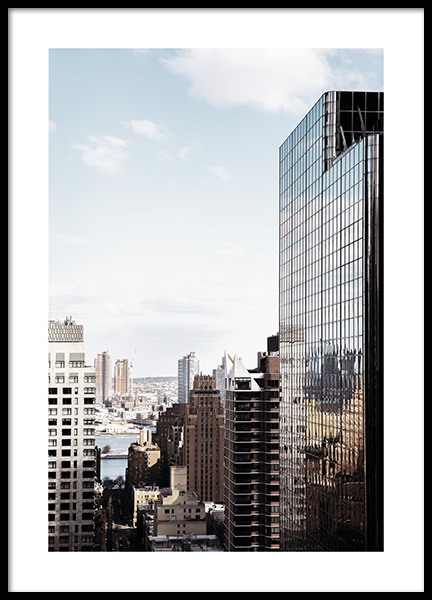 NYC Skyscraper Poster in the group Posters & Prints / Photography at Desenio AB (11325)