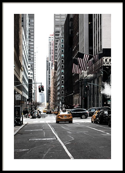 New York Street Poster in the group Posters & Prints / Photography at Desenio AB (11326)