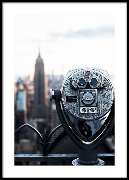 Top of the Rock Poster in the group Posters & Prints / Photography at Desenio AB (11328)
