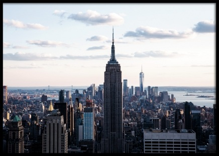 New York Skyline Poster in the group Posters & Prints / Photography at Desenio AB (11329)