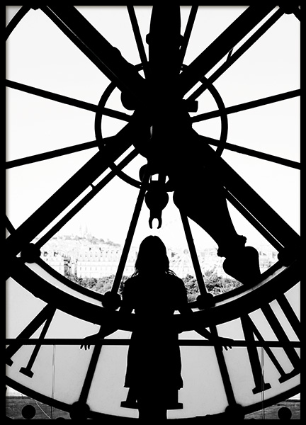 Time in Paris Poster in the group Posters & Prints / Studio Collections / Studio Cosmopolitan / Paris at Desenio AB (11333)