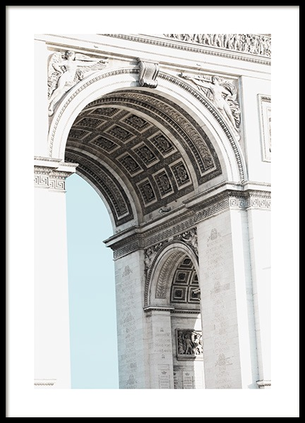 Arc de Triomphe Detail Poster in the group Posters & Prints / Photography at Desenio AB (11335)