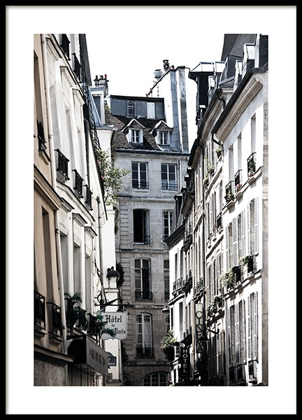 Paris Alley Poster in the group Posters & Prints / Photography at Desenio AB (11350)