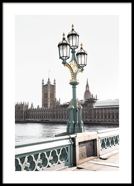 Westminster Bridge Poster in the group Posters & Prints / Photography at Desenio AB (11354)