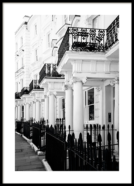 Notting Hill Street Poster in the group Posters & Prints / Photography at Desenio AB (11371)
