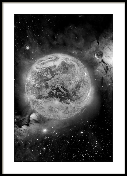 In Space Poster in the group Posters & Prints / Black & white at Desenio AB (11436)