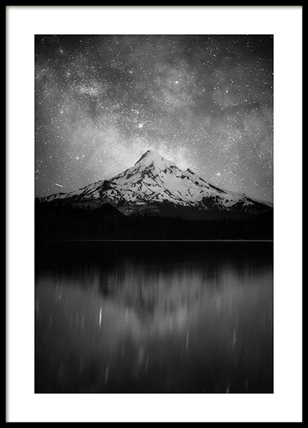 Space Mountain Poster in the group Posters & Prints / Nature at Desenio AB (11437)