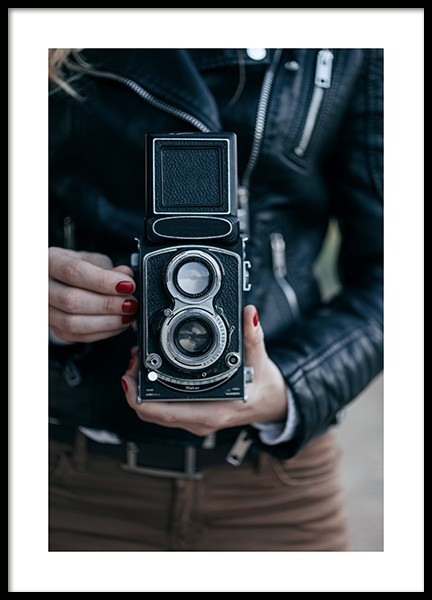 The Camera Poster in the group Posters & Prints / Vintage at Desenio AB (11526)