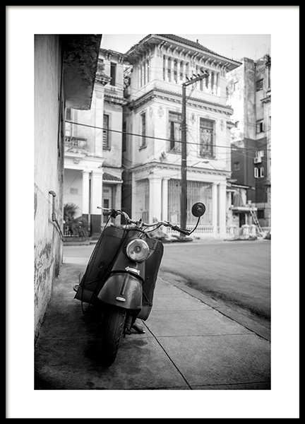 Street of Havana Poster in the group Posters & Prints / Photography at Desenio AB (11528)