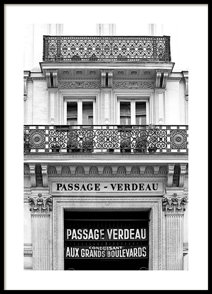 Passage Verdeau Poster in the group Posters & Prints / Photography at Desenio AB (11529)